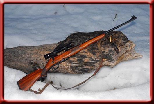våpen brukte rifler